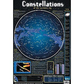 WALL CHART CONSTELLATIONS