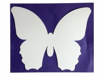 BUTTERFLIES LARGE COLOURS PK20