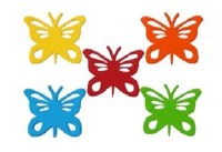 BUTTERFLY ASSORTED CARD 20PK