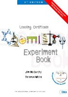 CHEMISTRY EXPERIMENT BOOK EDCO