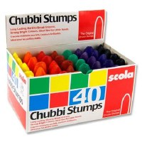 CHUBBI STUMPS 40 PER BOX