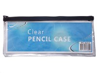 CLEAR PENCIL CASE LARGE