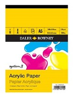 DALER SYSTEM 3 ACRYLIC PAD A5