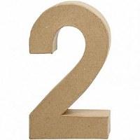 DECO NUMBER 2 H.24.5cm