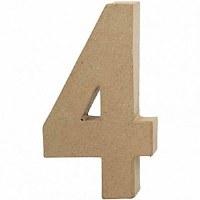 DECO NUMBER 4 H.24.5cm