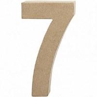 DECO NUMBER 7 H.20.5cm