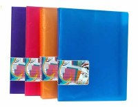 DISPLAY BOOK 40 POCKETS NEON