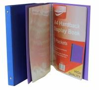 DISPLAY BOOK HARDCOVER 40PKT