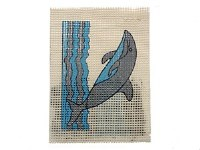 EMBROIDERY DOLPHIN 2