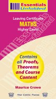 ESSENTIALS UNFOLD LC MATHS HL