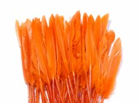 FEATHERS 11CM-14CM ORANGE