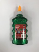 GLITTER GLUE GREEN 200ML