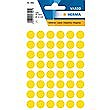 HERMA LABELS ROUND YELLOW 12mm