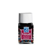 GLASS PAINT DEEP RED 50ML