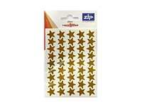 LABELS GOLD STARS 120 PER PACK