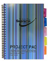 PROJECT PAD A4 5 PART DIVIDERS