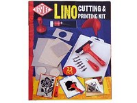 LINO CUTTING PRINTING SET