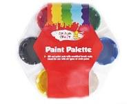 PAINT PALETTE + 6 WELL POTS