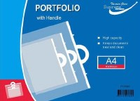 PORTFOLIO WITH HANDLE A4