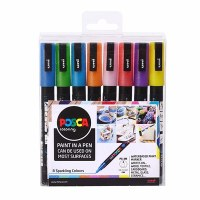POSCA MARKERS 3MSP 8 COLOURS