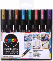 POSCA MARKERS 5MM 8 COLOURS