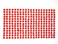 RHINESTONES RED 6MM