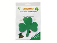 SHAMROCK GREEN CARD 12 PACK