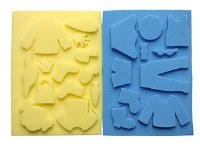 SPONGE PAINTING PEOPLE 24PK