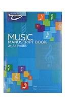 MUSIC MANUSCPT 12 STAVE SUPREM