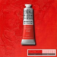 WINTON 37ml CADMIUM RED HUE