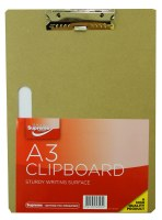 WOODEN CLIPBOARD A3