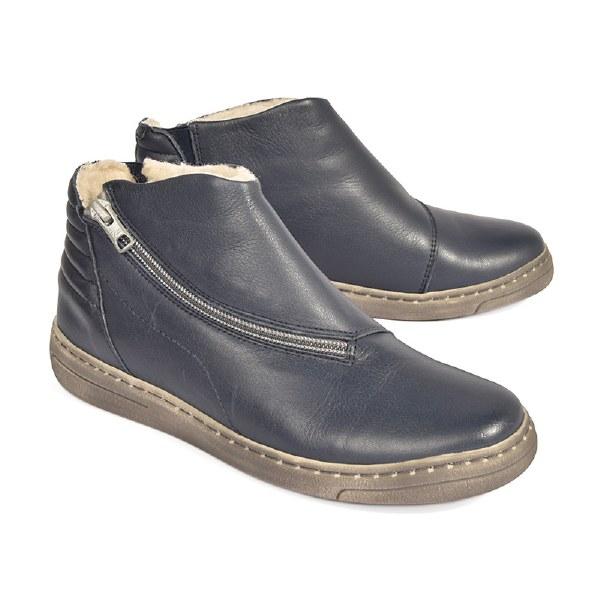 Cloud Faith Wool Lining Boot - Blue
