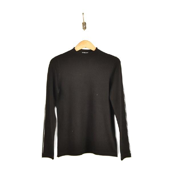 Liverpool Mock Neck Sweater - Black