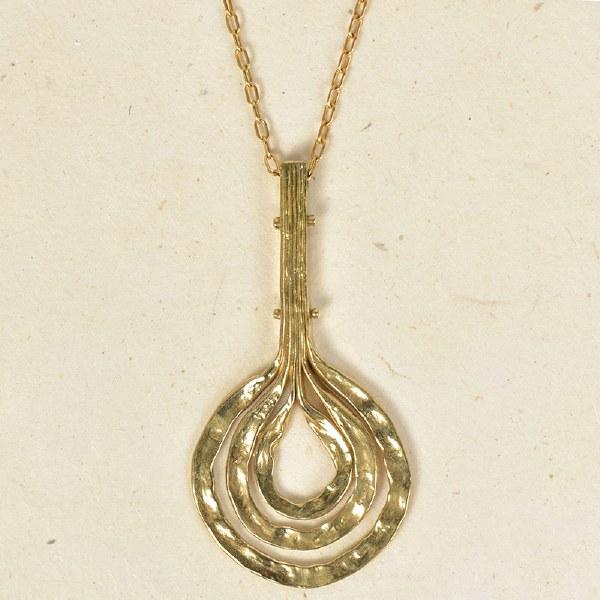 Arcos Foehn Necklace - Brass