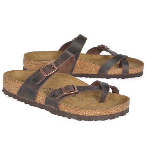 Birkenstock Mayari Leather - Brown