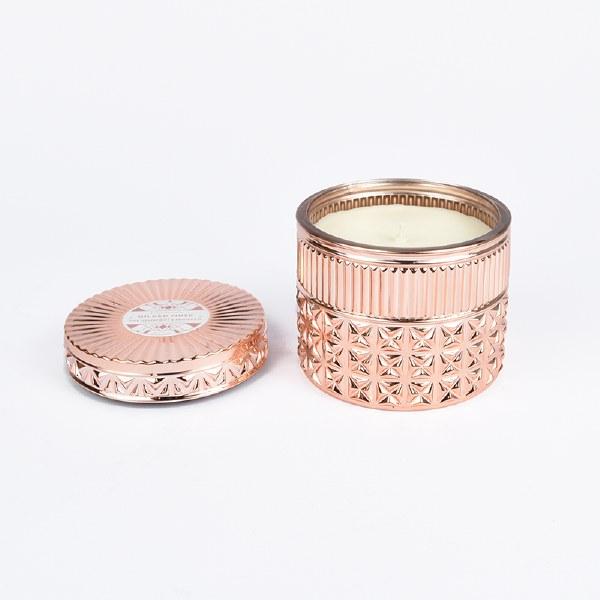 Capri Blue Gilded Faceted Jar - Pink Grapefruit & Prosecco