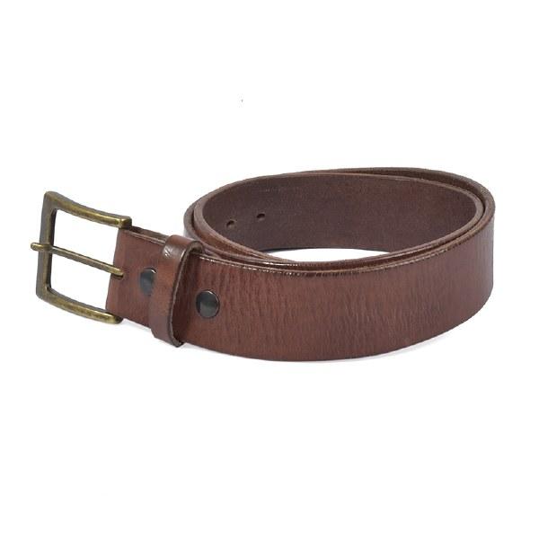 Embrazio Lato Belt - Burnished Brown