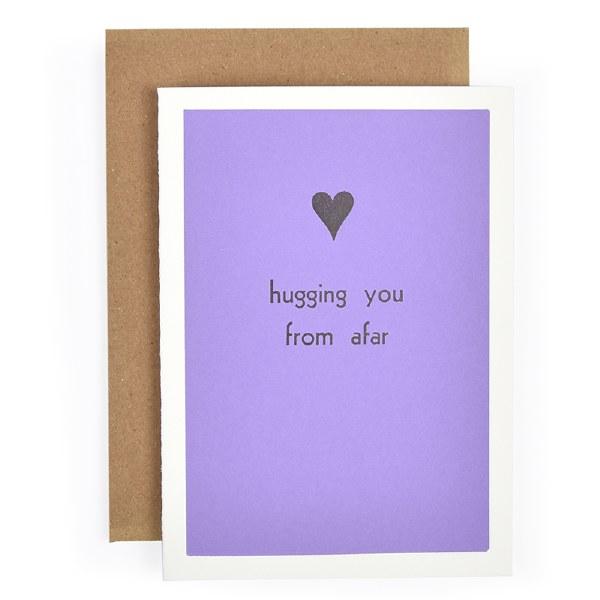 Etc. Letterpress Hugging You - Neutral