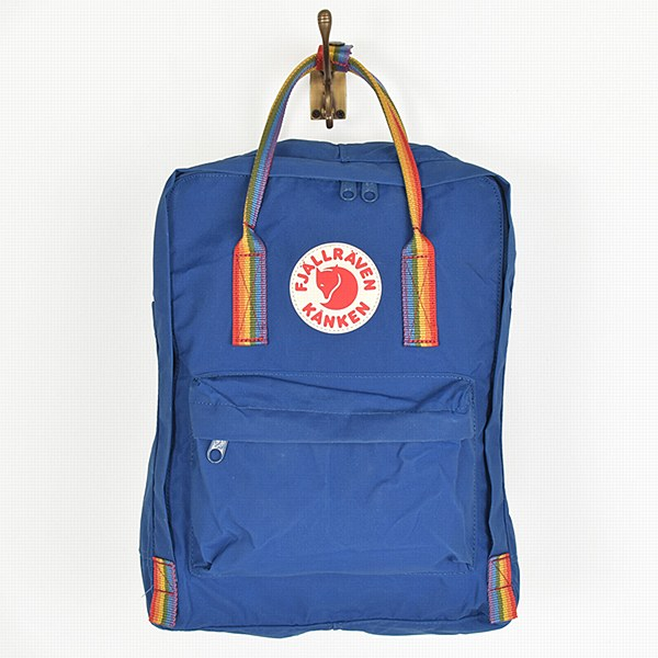 Fjallraven Kanken Rainbow - Deep Blue
