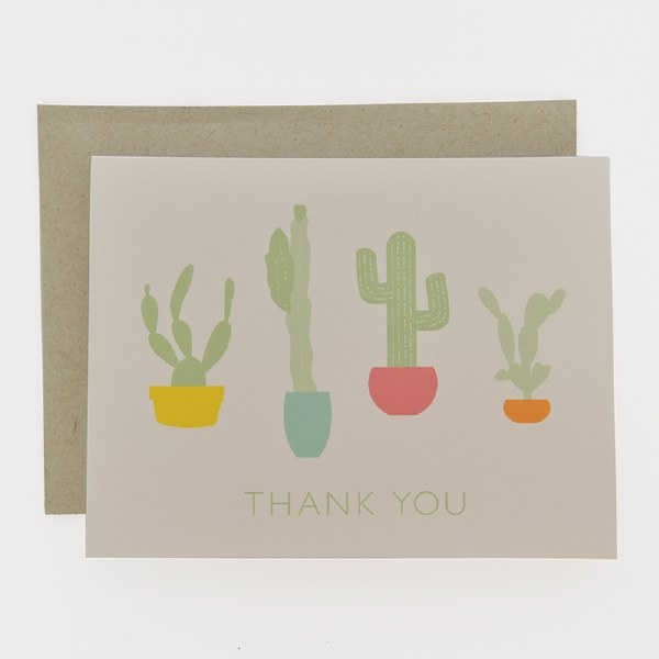 Graphic Anthology Catus Thanks - Neutral