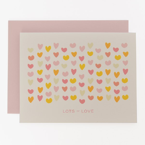 Graphic Anthology Lots of Love - Neutral