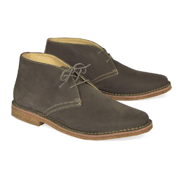 J&M Donnelson Plain Toe Chukka - Gray