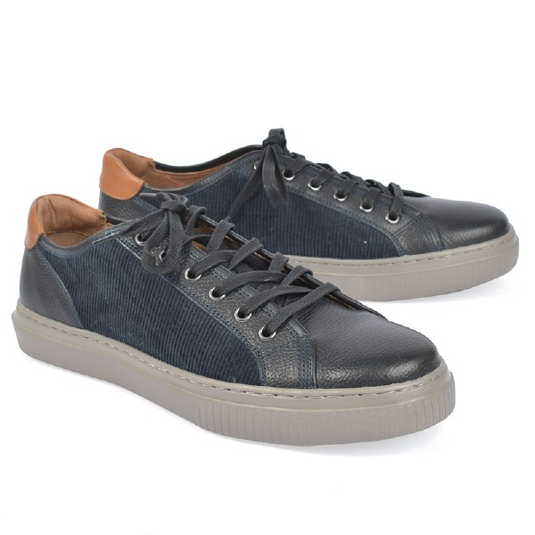 J&M 1850 Toliver Lace Sneaker - Navy