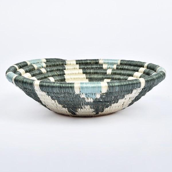 Kazi Small Hope Basket - Gray/Green
