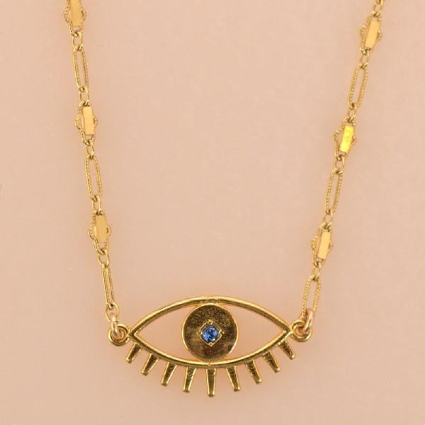 Katie Dean Evil Eye - Gold