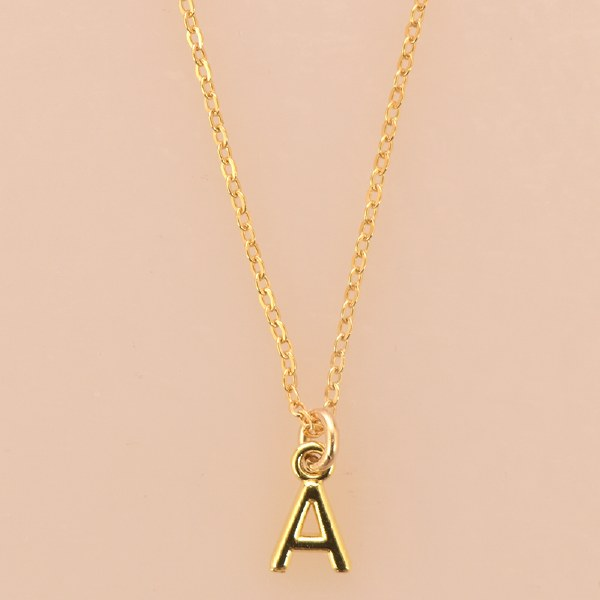 Katie Dean Initial Necklace - Gold