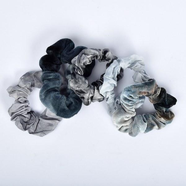 Kitch Tie Dye Scrunchies - Slate