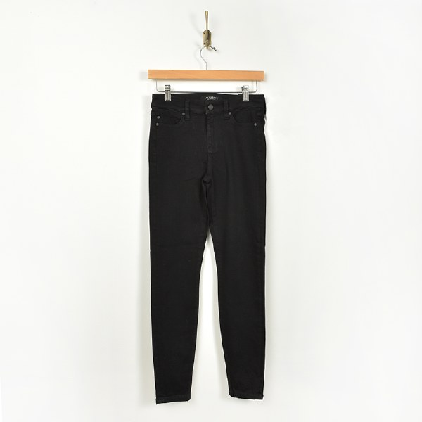 Liverpool Abby Ankle Skinny - Black Rinse