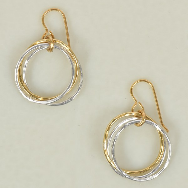 Marjorie Baer E9652 - Brass/Silver