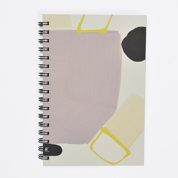 Moglea Painted Notebook - Purple Rain 2